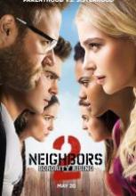 Kötü Komşular 2 full hd film izle